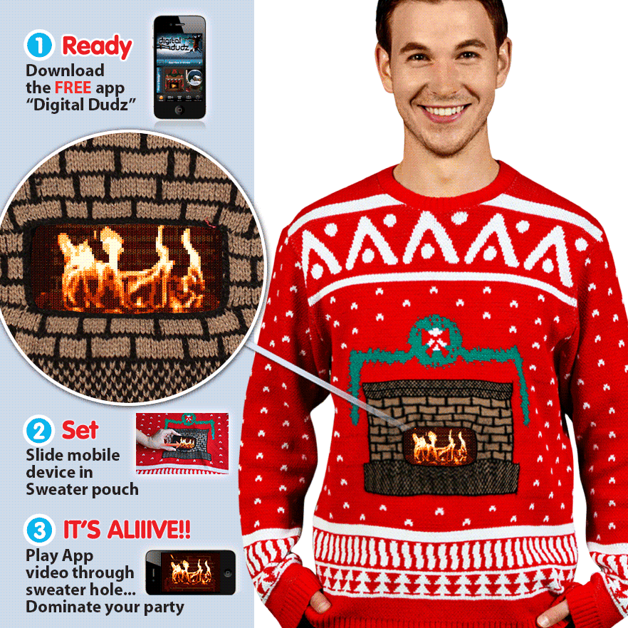 tecnologia christmas sweater